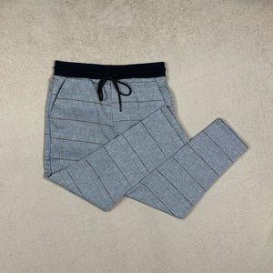 Zara Pants - Nova Check Trouser Gray Size M - 2000's